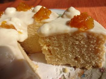 Kinkan Fave Garvanzo cake sliced best.JPG